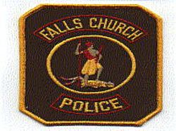 Falls Church Police Patch (VA)