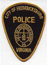 Fredericksburg Police Patch (weights/twill) (VA)