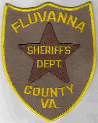 Sheriff: VA, Fluvanna Co. Sheriffs Dept. Patch