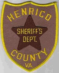 Sheriff: VA, Henrico Co. Sheriffs Dept. Patch