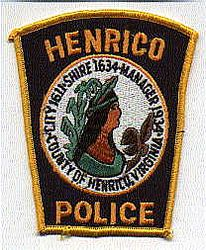 Henrico Police Patch (VA)