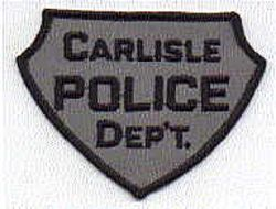 Carlisle Police Patch (grey/black) (PA)