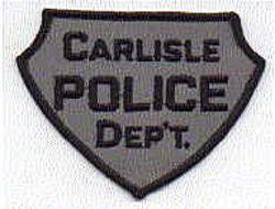 Carlisle Police Patch (grey/black) (PA)