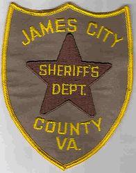 Sheriff: VA, James City Sheriffs Dept. Patch