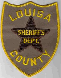 Sheriff: VA, Louisa Co. Sheriffs Dept. Patch