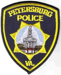 Petersburg Police Patch (VA)