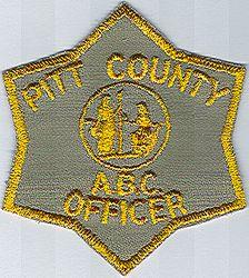 Pitt Co. A.B.C. Officer Patch (NC)