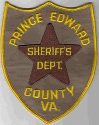 Sheriff: VA. Prince Edward Co. Sheriffs Dept. Patch