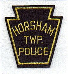 Horsham Twp. Police Patch (keystone, felt) (PA)