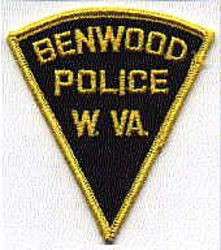 Benwood Police Patch (triangle) (WV)