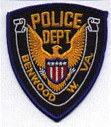 Benwood Police Patch (eagle) (WV)