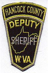 Sheriff: WV. Hancock Co. Deputy Sheriffs Dept. Patch