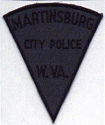 Martinsburg City Police Patch (WV)
