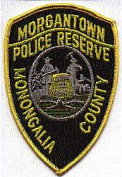 Morgantown Police Reserve Patch (WV)