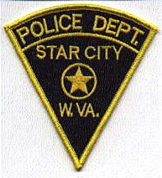 Star City Police Patch (WV)