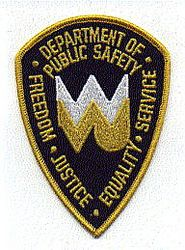 School: WV. Univ. Dept. of Public Safety Patch