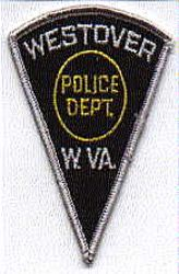 Westover Police Patch (cap size) (WV)