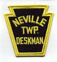 Neville Twp. Deskman Patch (PA)