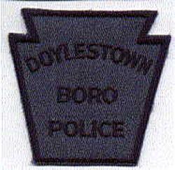 Doylestown Boro Police Patch (dark blue) (PA)
