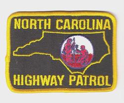 State: NC, Highway Patrol Patch (large)
