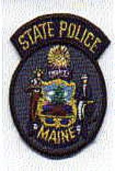 State: ME, State Police Patch (cap size)