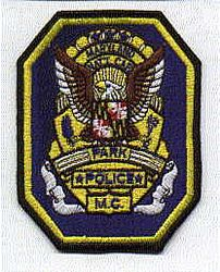 Park: MD, Nat. Cap. Pk. M.C. Police Patch (large)