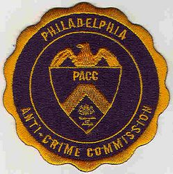 Philadelphia Anti-Crime Commission Patch (PA)