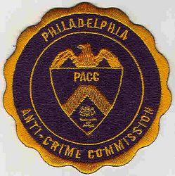 Philadelphia Anti-Crime Commission Patch (PA)