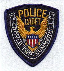 Croyle Twp. Summerhill Police Cadet Patch (PA)