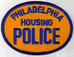 Philadelphia Housing Police Patch (orange/blue) (PA)