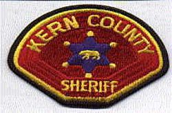 Sheriff: CA, Kern Co. Sheriffs Dept. Patch (facing left)
