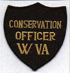 Park: WV. Conservation Officer Patch (shield shape)