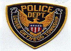 Lower Gwynedd Twp. Police (gold edge) (PA)