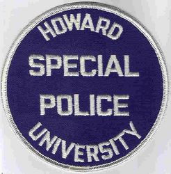 School: DC. Howard Univ. Special Police Patch