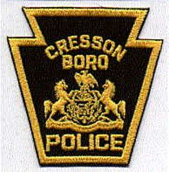 Cresson Boro Police Patch (PA)