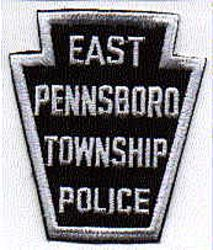 East Pennsboro Twp. Police Patch (silver/black) (PA)