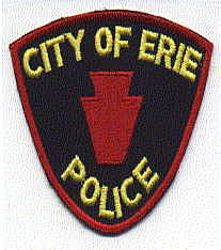 Erie City Police Patch (cut edge) (PA)
