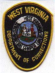 Dept. of Corrections Patch (WV)