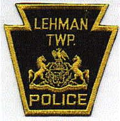 Lehman Twp. Police Patch (PA)