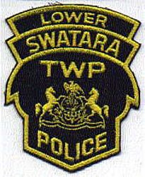 Lower Swatara Twp. Police Patch (blue/yellow, crest) (PA)