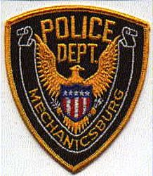Mechanicsburg Police Patch (brown) (PA)