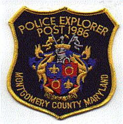 Montgomery Co. Explorer Post 1986 Police Patch (MD)