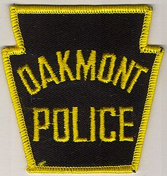 Oakmont Police Patch (PA)