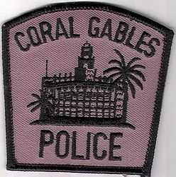 Coral Gables SWAT Police Patch (small) (FL)