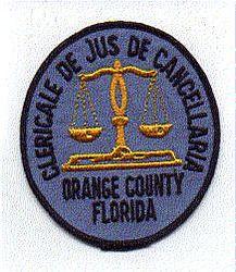 Orange Co. Clericale De Jus De Cancellaria Patch (FL)