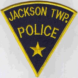 Jackson Twp. Police Patch (blue/gold) (PA)