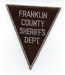 Misc: Franklin Co. Sheriffs Dept. Patch (brown)