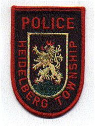 Heidelberg Twp. Police Patch (PA)