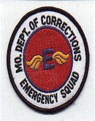 Dept. of Corrections Emergency Squad Patch (MO)