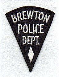 Brewton Police Patch (AL)
